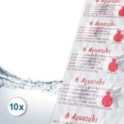 10 Chlortabletten Vorteilspack für Rudergeräte wie Waterrower