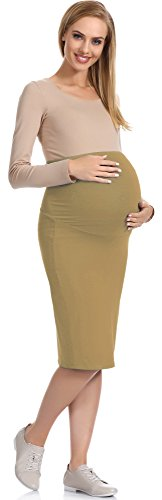 Be Mammy Maternité Robe Femme 30 Beige