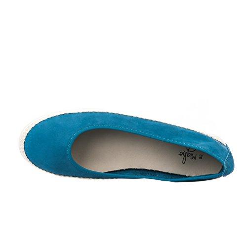 Miglio Ballerines Femme Bleu - B7832 - Millim Bleu