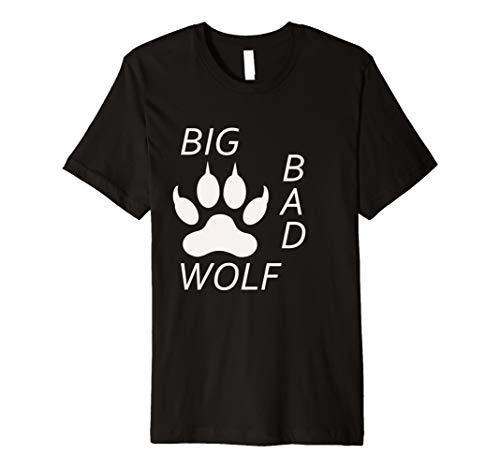 Big Bad Wolf Paw Halloween-Kostüm T-Shirt T Shirt -
