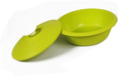 Cutting Edge Daffodil Elegant Serving Dish, Set of 1, 1.8 Litre, Trendy Green  available at amazon for Rs.200
