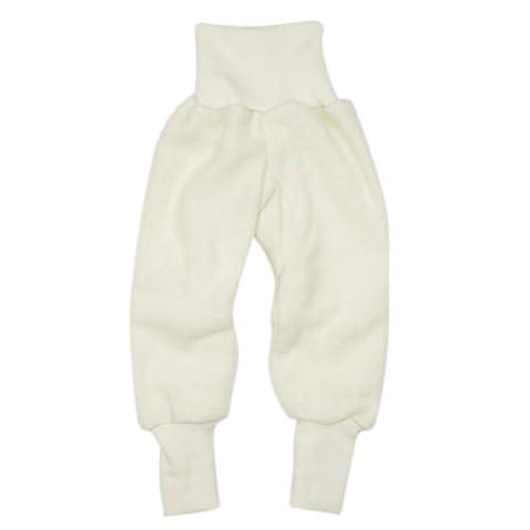 Cosilana Hose Woll-Fleece, Größe 86/92, Farbe Natur - Vertrieb nur durch Wollbody®