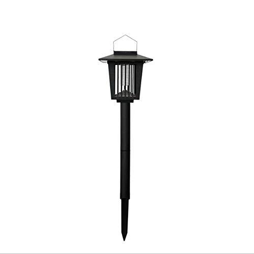 QTRT Bug Zapper Outdoor Solarbetrieben, Solar Mückenvernichter Elektronische Abwehrlampe Wasserdichte Rasenlampe, LED Licht Mückenpest Insektenvernichter Lampe, Mückenvernichter Lampe Licht