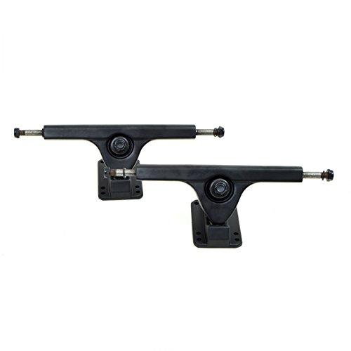 Apollo Longboard Achse - FatCat - Black - 7 Inch/178 mm Longboard-Achsen Set/Trucks - Truck Set mit 2 Achsen -