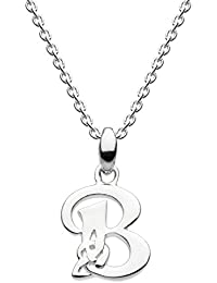 Heritage Sterling Silver Celtic Initial Necklace
