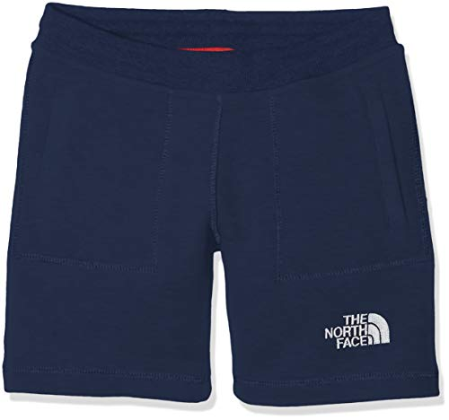 THE NORTH FACE Fleece Short Shorts, Unisex Kinder S Cosmic Blue -