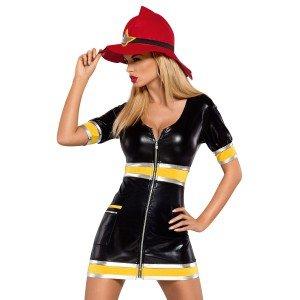 Kostüm Firegirl - Obsessive Damen Kostüm