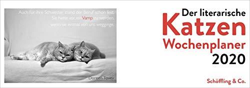 Der literarische Katzen Wochenplaner 2020 (Tischkalender Katzen)