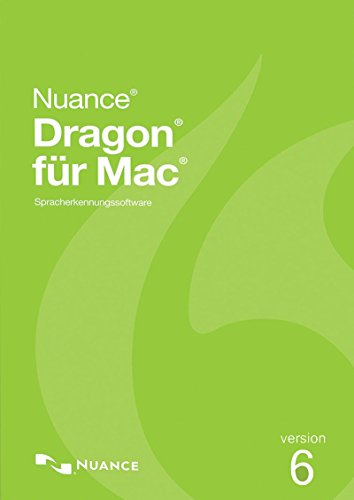 Nuance Dragon Professional Individual 6.0 für Mac - Akademische Version [Download]