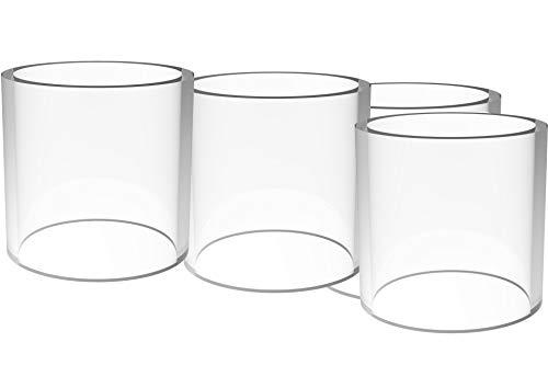 3 Stück ijusts Glass Glas-Tank passend zu Ijust S von zum Eleaf Ersatz-Glas,¢ 24.5XH25.5MM 3pcs/Box