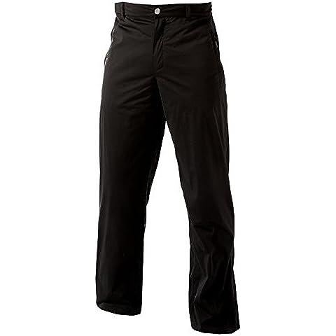 catmandoo Hombre Negro–Pantalones impermeables para exteriores