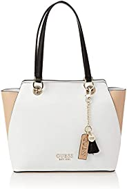 Guess Womens Tote Bag, Tan Multi - VT767223