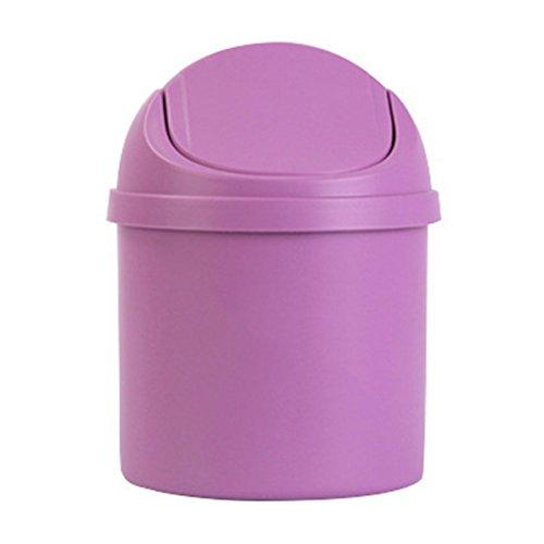 cococina Mini papelera escritorio basura cesta casa mesa papelera cubo de la basura contenedor