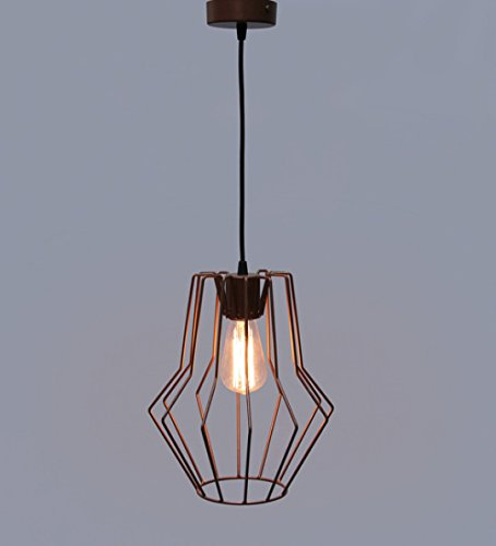The Brighter Side Stylish Trendy Good Quality Copper Brown Cobweb Pendant Hanging Decorative Lights Specially For Diwali