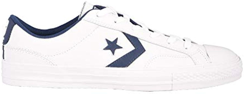 Converse Star Player Player Player Ox Navy bianca, Scarpe da Ginnastica Basse Unisex – Adulto | diversità  | Uomo/Donna Scarpa  e0b5a7