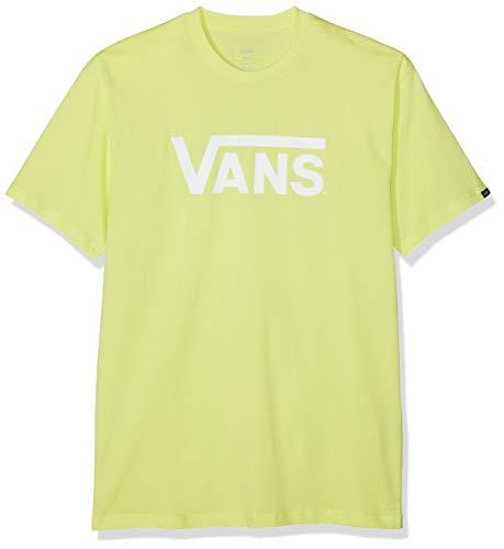 Vans Herren T-Shirt Classic, Gelb (Sunny Lime-White Tjz) X-Large