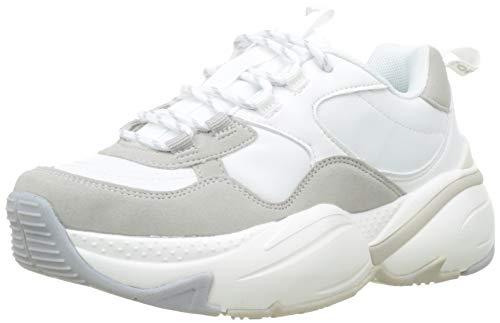 Victoria Aire Nylon/Serraje PU, Zapatillas Unisex Adulto, Blanco Blanco 20, 40 EU