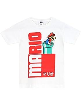 Nintendo Super Mario Bros Super Mario Bros - Camiseta Para Niño - Mario