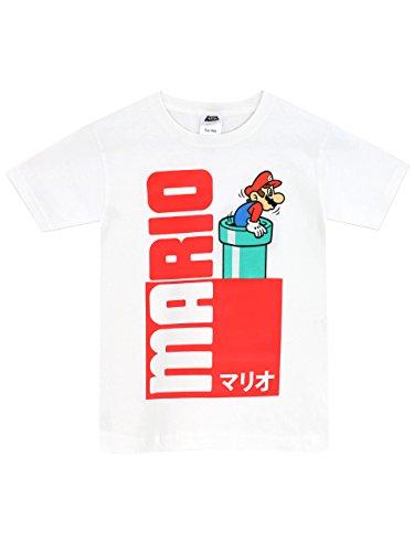 Super Mario Bros - Camiseta para niño - Mario - 7 - 8 Años