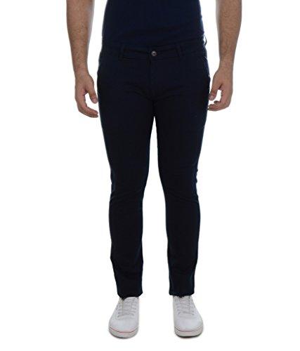 Ben Martin Men's Regular Fit Cotton Trouser (BMW-TRS-Blue_32)