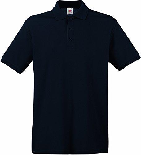 Preisvergleich Produktbild Fruit of the Loom Herren Premium Poloshirt 63-218-0 Deep Navy L