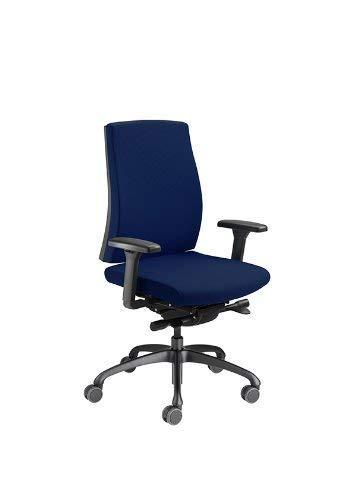 Löffler Bürodrehstuhl Figo 1951 d\'blau