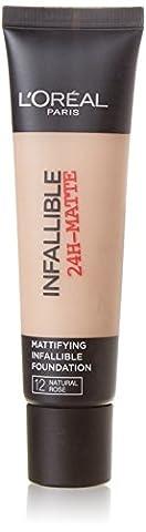 L'Oreal Infallible 24H Matte 35ml- 12 Natural Rose