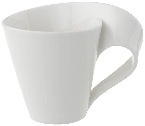 Villeroy & Boch NewWave Tasse, 200 ml, Porcelaine Premium, Blanc