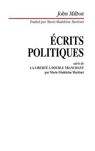 Écrits politiques par J Milton
