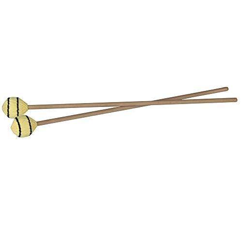 Kalaok Martello con manico Marimba Xilofono Glockensplel Mallet con manico faggio Strumento percussione Accessori per professionisti Amateurs 1 paio