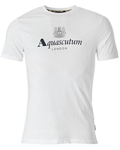 aquascutum-griffin-brand-logo-crew-neck-t-shirt-xl-white