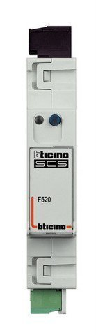 BTICINO MY HOME F520 - SENSOR SCS ENERG ELECTRIC 1DIN