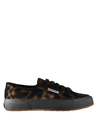 Chaussures Le Superga - 2750-synhorsemetw Noir-bronze