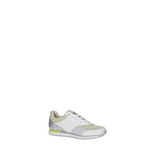 Scarpe Donna Guess Sneacker Reeta Blanc Jaune E16gu20 Blanc / Jaune