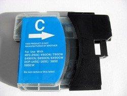 1 kompatible Patrone ( cyan ) für Brother DCP145C DCP165C DCP385C DCP535CN DCP585CW DCP6690CN...