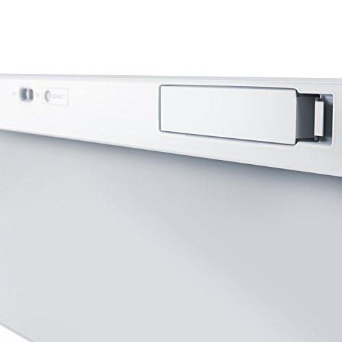 CSL - Bluetooth Slim Tastatur / Wireless Keyboard im Slim-Design | QWERTZ-Layout (Deutsch) | Multimedia Keys | Stand-By-Modus | Microsoft Windows / Google Android / Apple iOS + Mac OS X | silber - 2