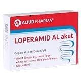 Loperamid AL akut, Spar-Set 4x10Hartkapseln. Schnelle Hilfe bei akutem Durchfall, zur kurzzeitigen Anwendung. Glutenfrei