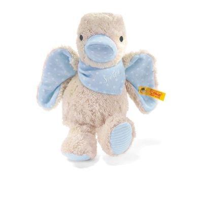 Steiff 238321 - Schnatter-Ente, blau, 23 cm