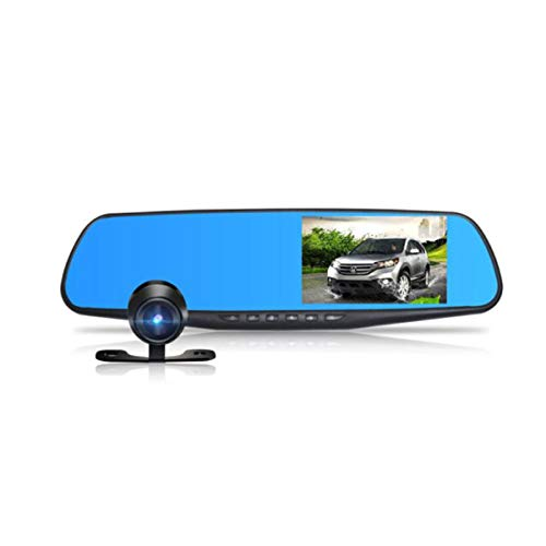 Autorecorder, HD-Nachtsicht-Doppellinse, Doppellinsen-Recorder + 8G-Karte (Color : A)