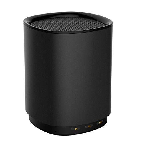 Zihenguo altoparlanti intelligenti di controllo vocale dell'altoparlante senza fili di bluetooth audio mini del subwoofer esterno portatile con il microfono