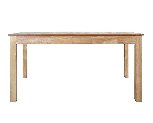 Furniture 247 - Tavolo da pranzo a 6-8 posti in rovere naturale