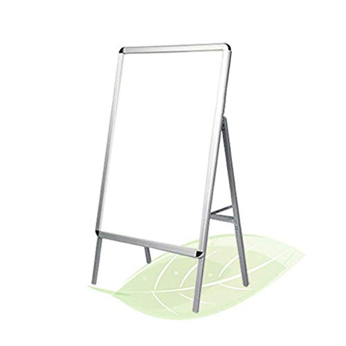 LXJYMX Plakatständer Offener Rahmen des Standschildhalters mit Schwerer Standplakat-Standwerbung der Sicherheitsecke Zeichen Stehen (Size : 60 * 90cm) (Vertikale Zeichen Zu öffnen)