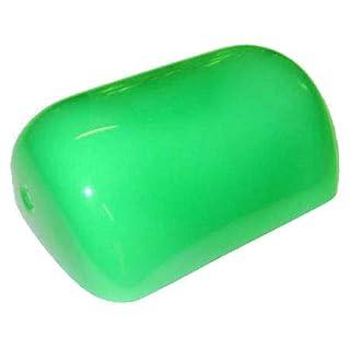 Arterameferro Replacement Glass For Small Ministerial Brass Lamp, Green, 15 cm x 10 cm