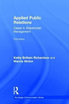 [ { Applied Public Relations: Cases in Stakeholder Management (Revised) } ] BY ( Author ) Apr-2015 [ Hardcover ]