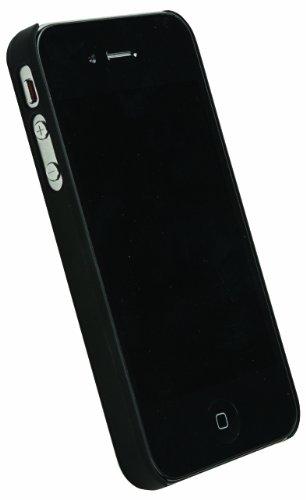 Krusell ColorCover für Apple iPhone 4S gelb schwarz