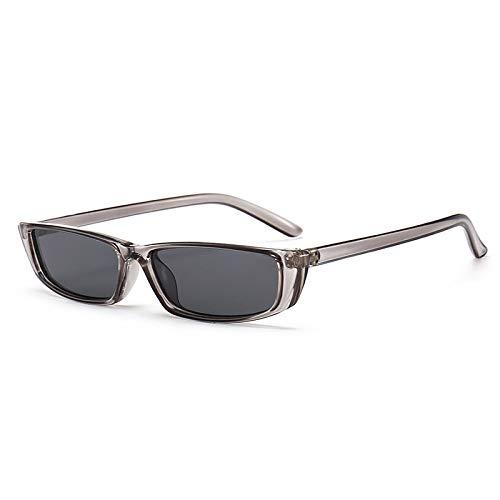 Yangjing-hl Small Square Fashion Sonnenbrillen Herren Retro Trend Sonnenbrillen Sonnenbrillen Grau Frame Grau