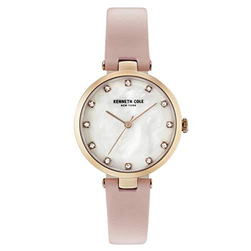 Kenneth Cole New York Mujer Reloj De Pulsera Analógico Cuarzo Piel kc50257005
