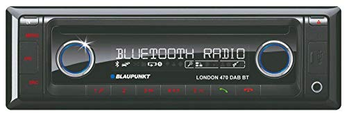 Blaupunkt 2001017123460 London 470 DAB BT Autoradio (CD-/MP3-Tuner, Bluetooth, Front-AUX-in) schwarz