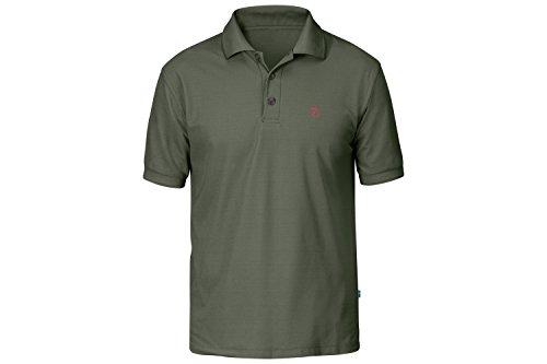Fjällräven Herren Crowley Pique Shirt Poloshirts, Mountain Grey, 2XL