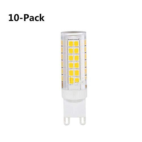 Hplights G4 7W LED Lampen Kieselgel 460LM Ersatz Für 50W Halogenlampen 220-240V Weißes Licht 360° Abstrahlwinkel LED Birnen Leuchtmittel,10er-Pack [Energieklasse A+] (Watt-ersatz-lampen 7)